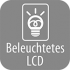 Beleuchtetes LCD